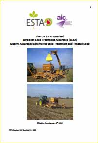 Image for ESTA Standard – Effective from 1st January 2016