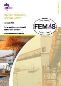 Image for FEMAS Sector Notes 2019 - Biofuels