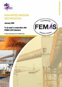 Image for FEMAS Sector Notes 2019 - Non-UK Participants