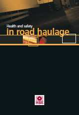 Image for Health and Safety in Road Haulage (HSE)